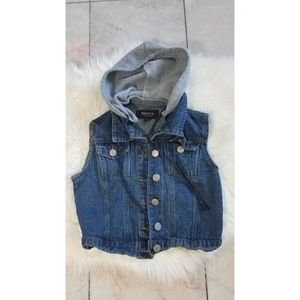 Poetry jean jacket vest